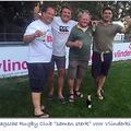 """Haagsche Rugby Club """"samen sterk"""" voor Stichting Vlinderkind"""